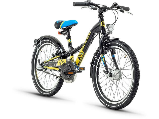 s'cool XXlite 20 3-S Børnecykel steel sort (2019)   City-cykler